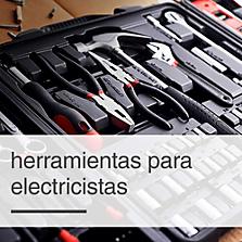 Herramientas y accesorios para electricistas