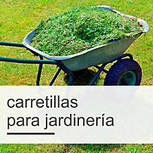 Carretillas para jardinería