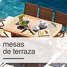 Mesas modelos ideales para tu hogar sodimac for Sodimac terrazas chile