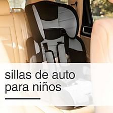 Sillas de auto para niños y accesorios