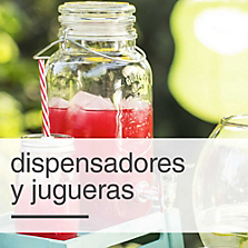 Dispensadores y jugueras