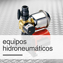 Equipos hidroneumáticos