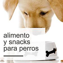 Alimento y Snacks para Perros