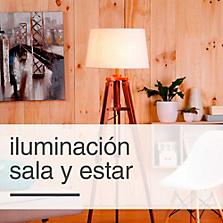 Iluminación Sala y Estar