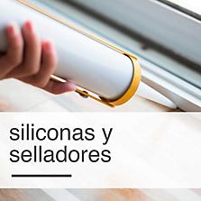 Siliconas y Selladores