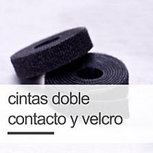 Cintas Doble Contacto y Velcro