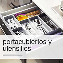 Portacubiertos y utensilios
