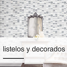 Listelos y Decorados