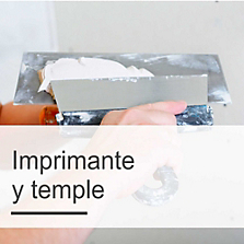 Imprimante, Temple, Pasta Mural y Sellador