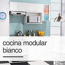 Cocina modular Bianco
