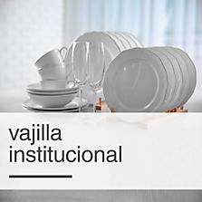 Vajilla Institucional