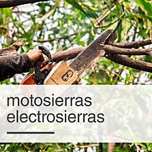 Motosierras / Electrosierras