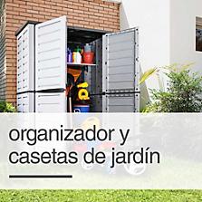 Bodegas de jardín y organizadores