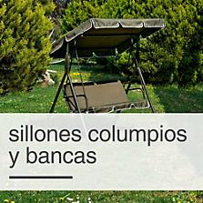 Sillones Columpios y Bancas