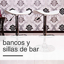 Bancos y Sillas de Bar