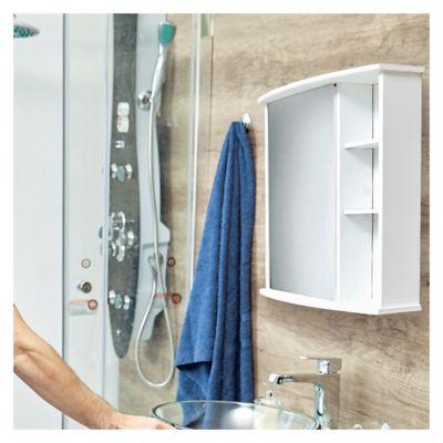 Botiqu n de pared andorra 58 x 66 x 22 cm - Fijaciones para espejos ...