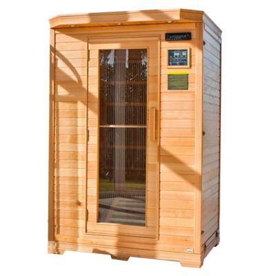Sauna con Luces en Techo