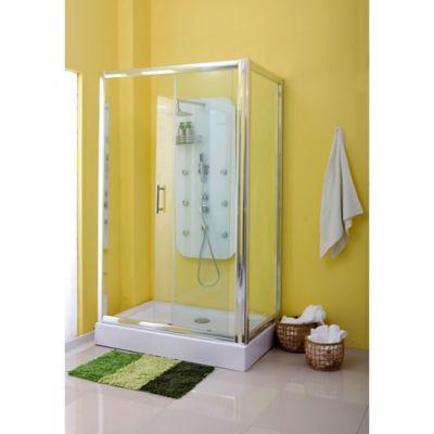 Cabina de ducha rectangular 120 x 80 x 200 cm - Cabina ducha rectangular ...