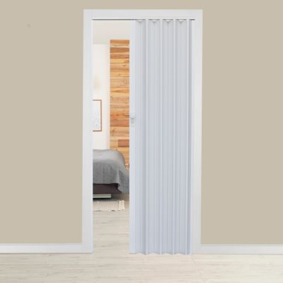 Puerta plegadiza Milano Blanca 90 x 200 cm Derecha/Izquierda