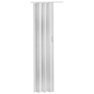 Puerta plegadiza Tivoli Blanca 90 x 200 cm Derecha/Izquierda