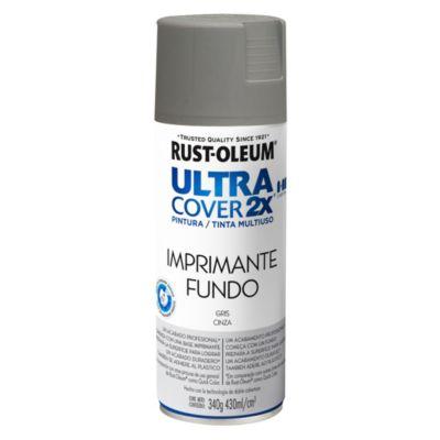 Pintura en aerosol multiuso Ultra Cover 2x Imprimante gris mate 340 g