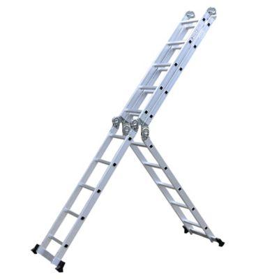 Escalera multipropósito de aluminio