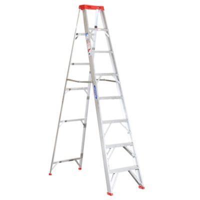 Escalera tijera aluminio 8 peldaños