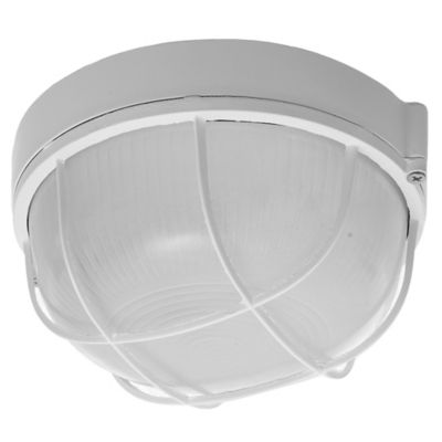 Tortuga red aluminio reja 1 luz 40 w blanca