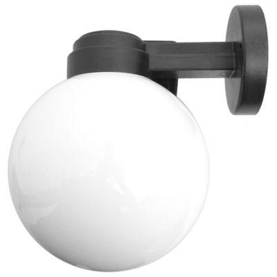 Aplique exterior Globo opal 20 cm