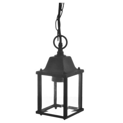 Farol Negro 1 Luz E27 60 W