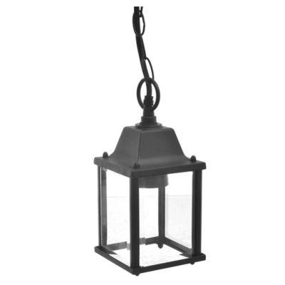 Farol Colgante Negro 1 Luz E27 60 W