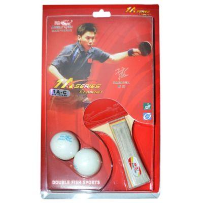 Set paleta + 2 pelotas de Ping Pong