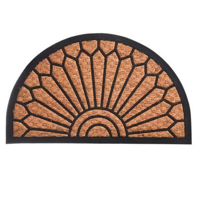Felpudo de coco Semicirculo 75 x 45 cm