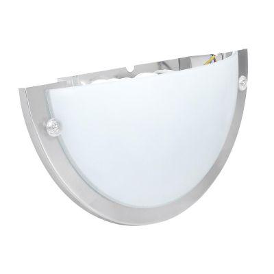 Aplique Talía plástico níquel 27 cm 1 luz E27
