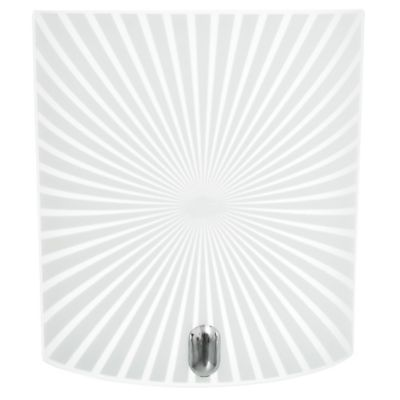 Aplique Rayas cuadrado 20 cm 1 luz E27