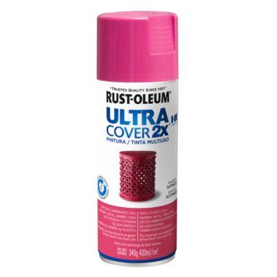 Pintura en aerosol multiuso Ultra Cover 2x magenta satinado 340 g