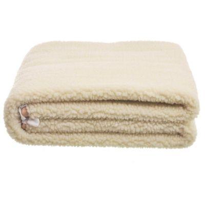 Calienta cama Caribe 1 plaza de lana 80 x 150 cm