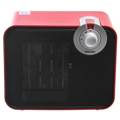 Caloventor rojo 1500 w PC-004 9C