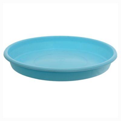 Plato redondo de 18 cm celeste pastel