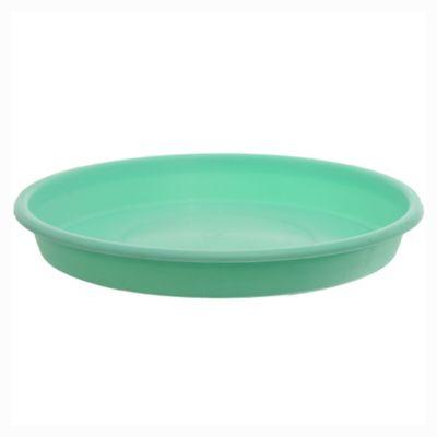 Plato redondo de 18 cm verde pastel