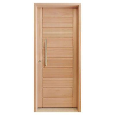Puerta LM1 derecha de 87 x 204 x 12 cm