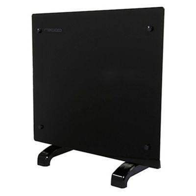Panel convector de vidrio negro 1000 w
