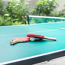 Mesas de ping pong y futbolitos