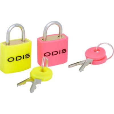 Set de candados para niños con llaves 23 mm 2 unidades