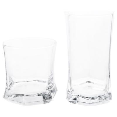 Set Vasos de Vidrio 12 Unidades