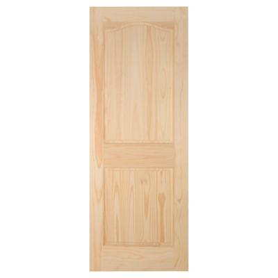 Puerta Pino 2 Paneles 70 x 200cm