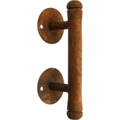 Tirador de puerta 170 cm óxido