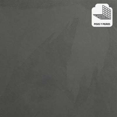 Piedra pizarra 40x40 cm 0,96 m2 negro