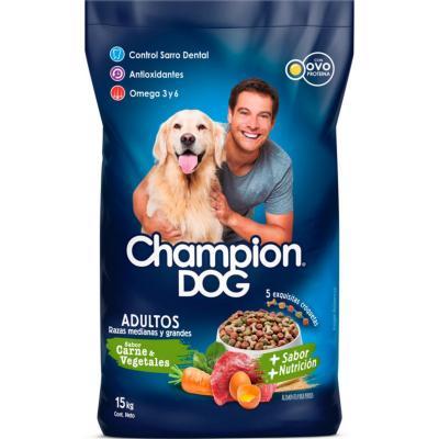 Alimento seco para perro adulto 15 kg pollo y vegetales