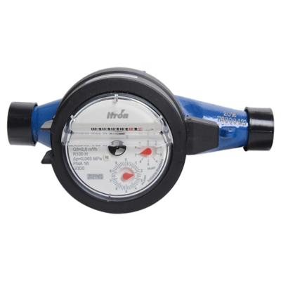 "Medidor de agua con unión 1/2"""